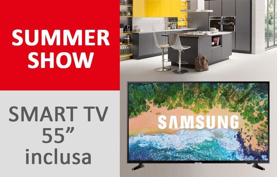 Acquista Una Cucina Per Te Una Smart Tv Samsung Da 55 Veneta Cucine Milano Tibaldi